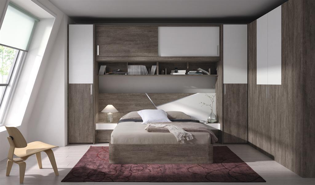 Moderno dormitorio puente conoce nuestros muebles para - Muebles dormitorio moderno ...