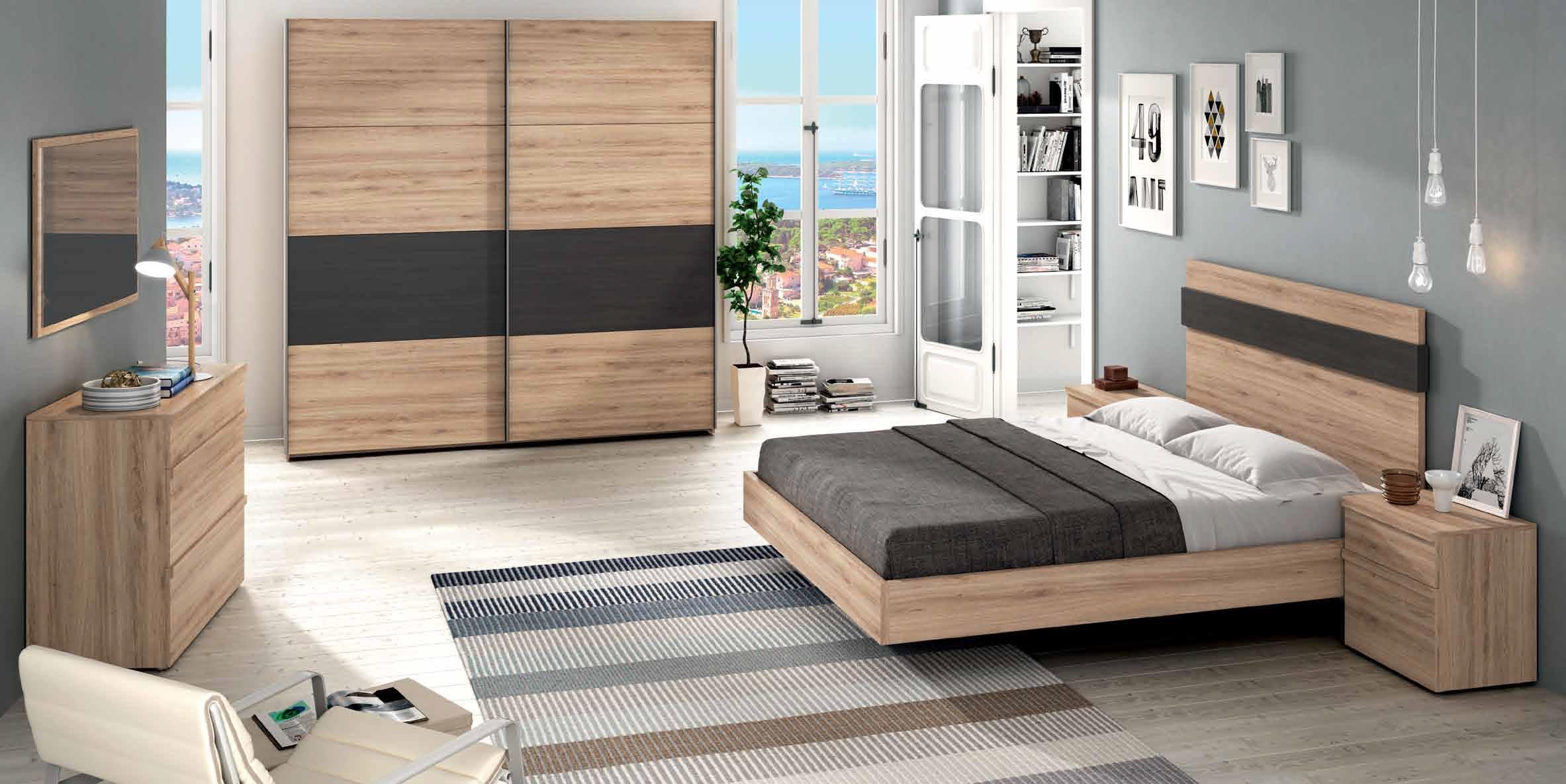 Dormitorio matrimonial moderno conoce nuestros muebles - Muebles dormitorio moderno ...