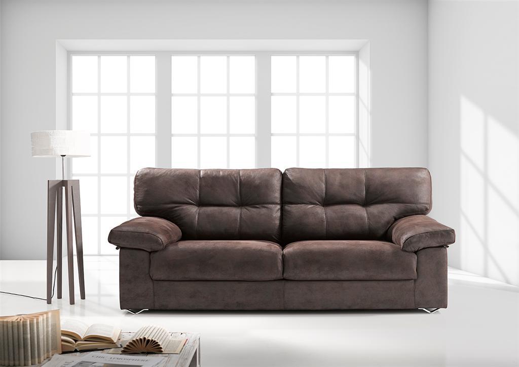 Sofa 3 plazas extraible 195cm.
