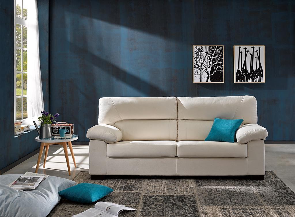 Sofa 3 plazas 195cm/fondo76cm.