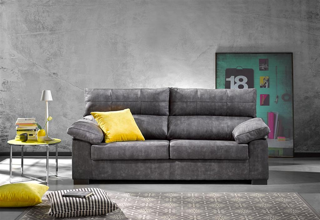 Sofa 3 p. respaldo reclinable