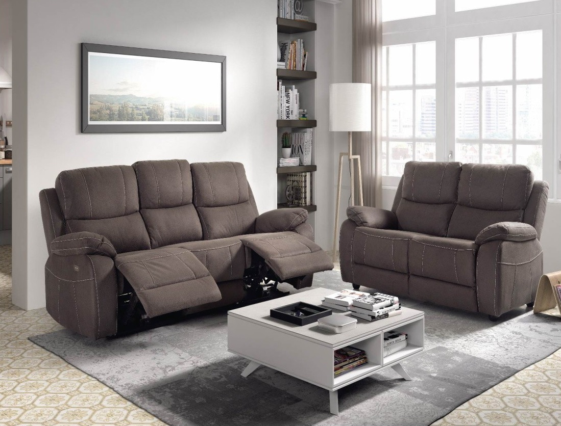 Sofas 2+3 plaz. relax electric