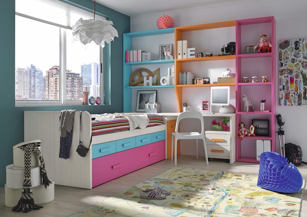 Dormitorio juvenil 1º precio