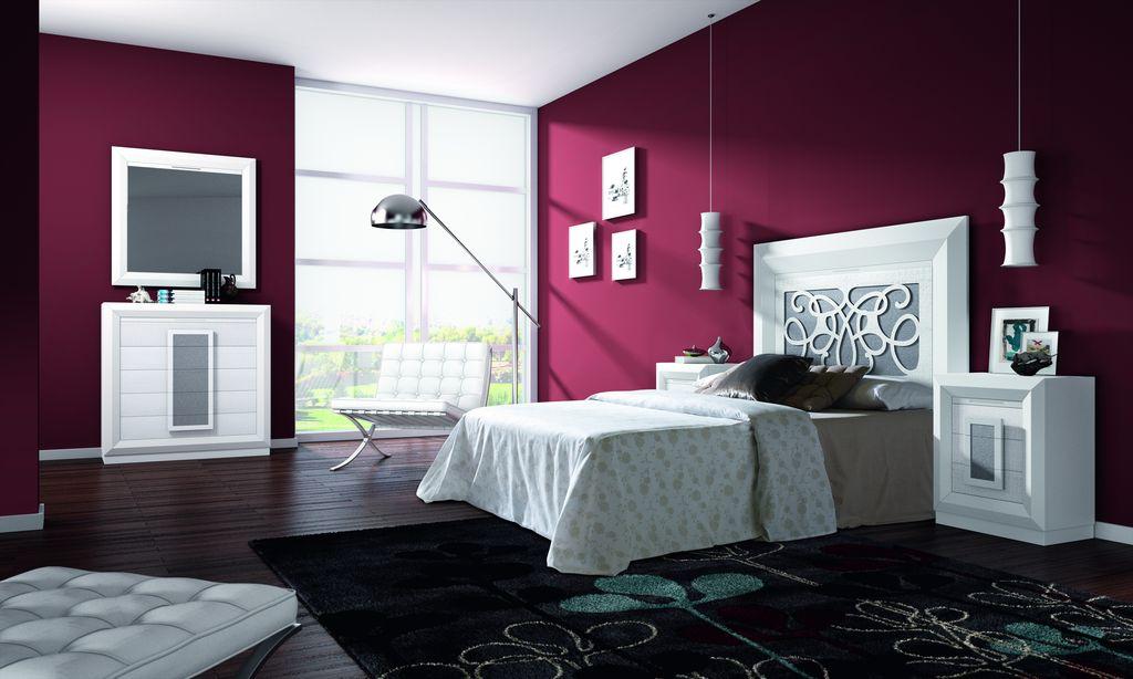 Conoce nuestros muebles para dormitorios for Dormitorio blanco y madera